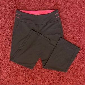 VSX Sport Capris slate grey with pink accents -XS